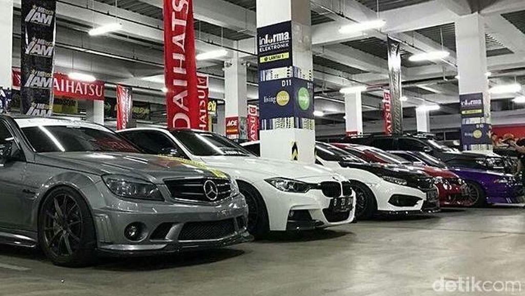 Lebih dari 110 Mobil Adu Cantik di Medan