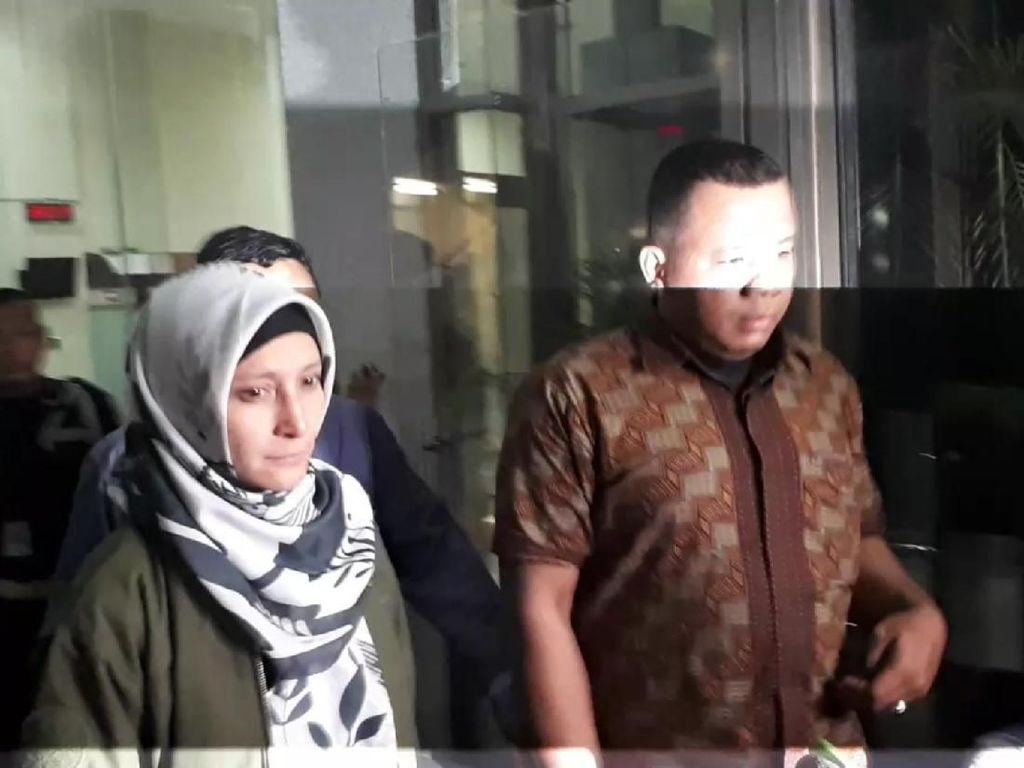Mata Basah dan Muka Pucat, Inneke Koesherawati Tinggalkan KPK