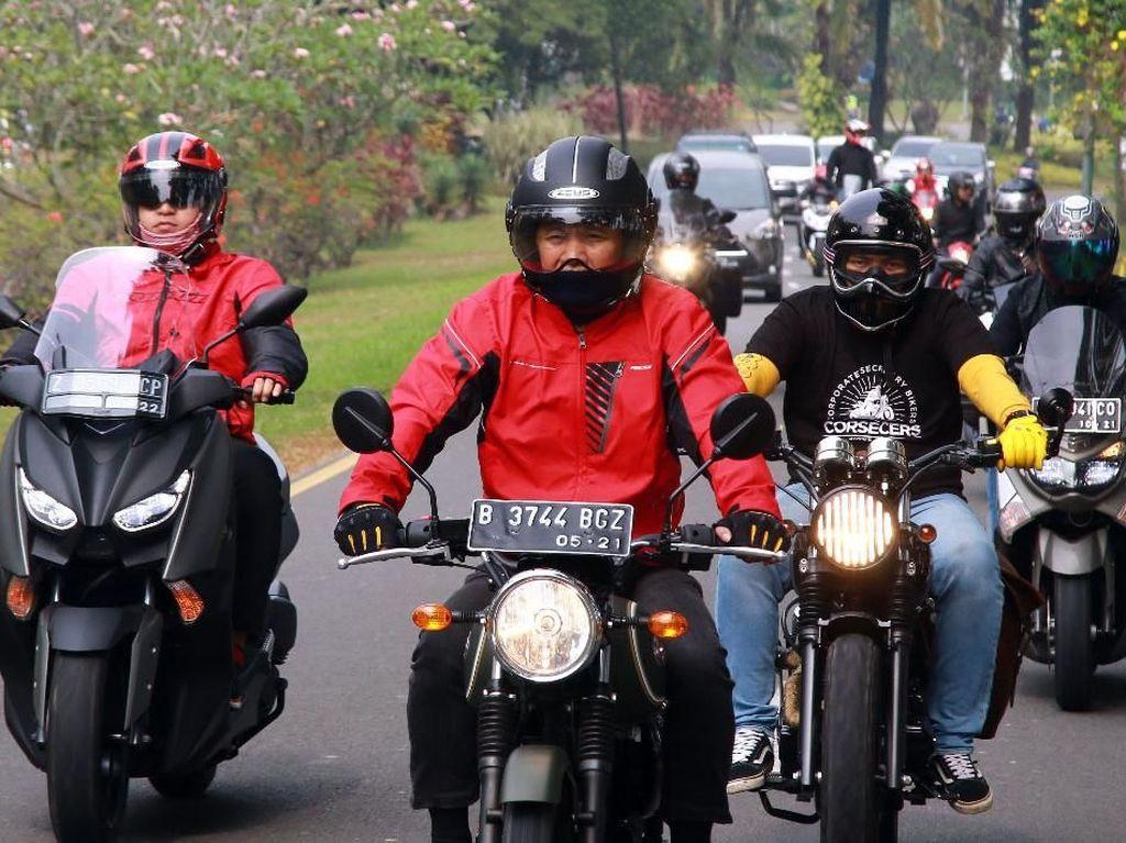 Touring Silaturahmi Jakarta-Bogor