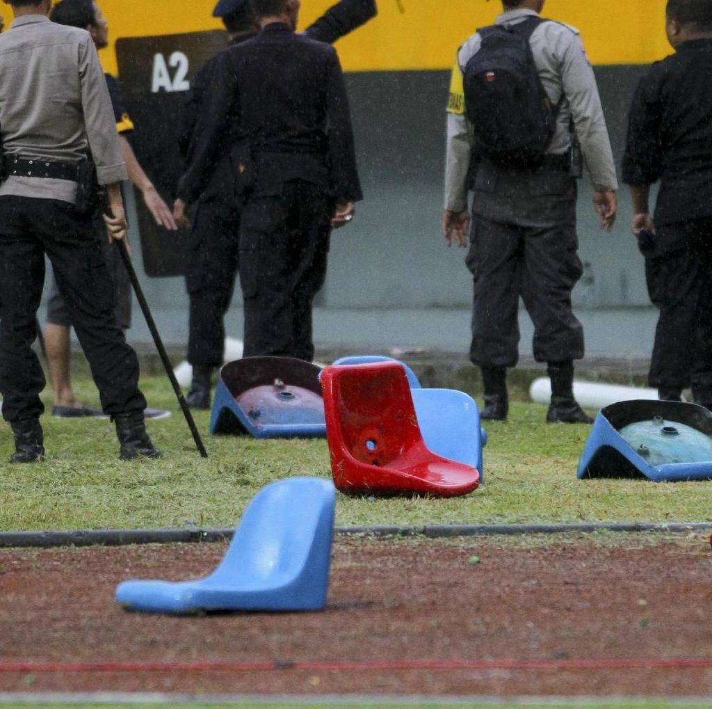 Gelora Sriwijaya Dirusak Suporter, Ini Respons Pengawas Keamanan