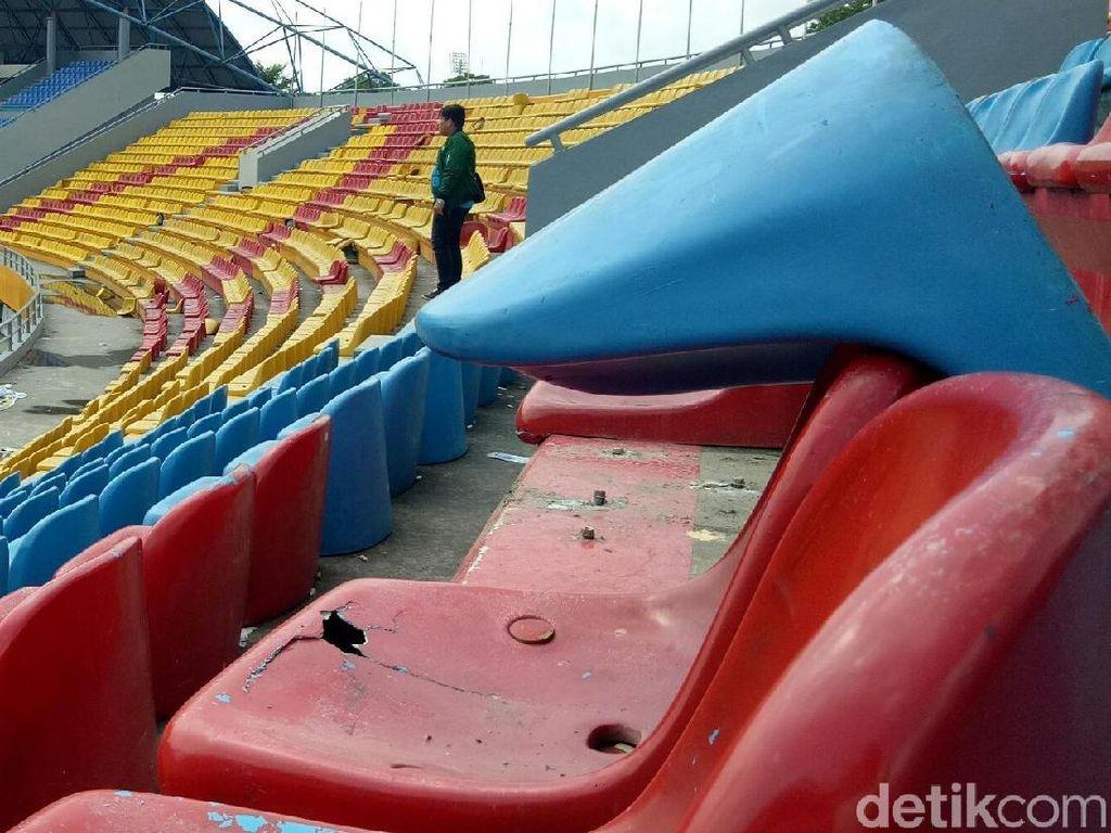 PUPR: Perbaikan Kursi Stadion Jakabaring Ditanggung Pemda