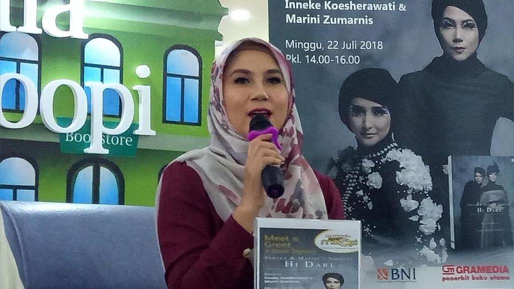 Marini Zumarnis Jalani Meet and Greet Sendiri Tanpa Inneke Koesherawati