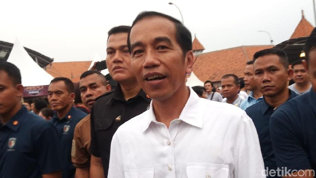 Heboh! Jokowi Datangi WTF Hari Terakhir
