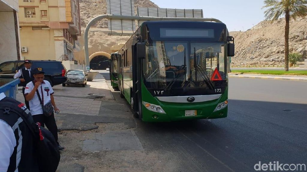 Jemaah Haji, Ini 12 Rute Bus Sholawat di Kota Mekah