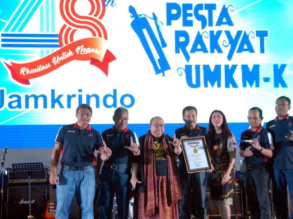 Rekor MURI untuk Pesta Rakyat UMKM
