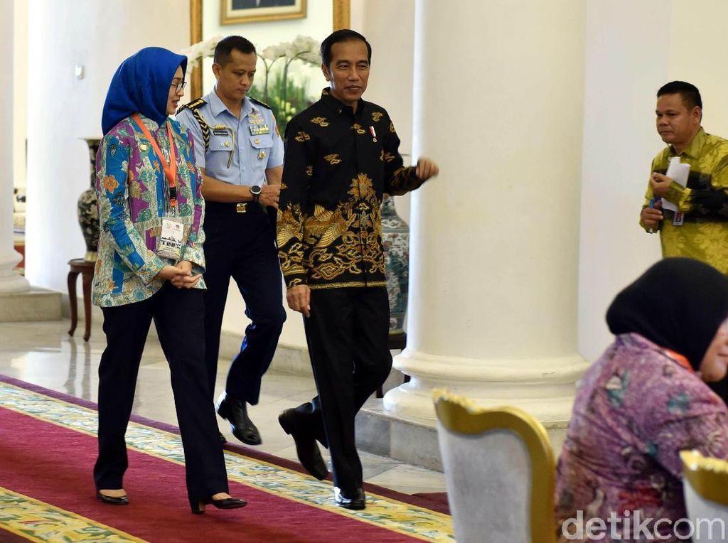 Airin dan Wali Kota Se-Indonesia Minta Naik Gaji ke Jokowi