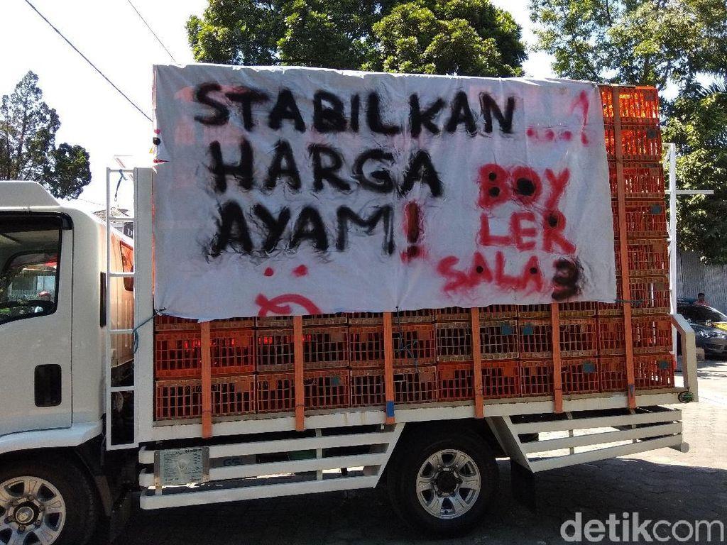 Ngadu ke DPRD, Pedagang Ayam Salatiga Minta Harga Turun