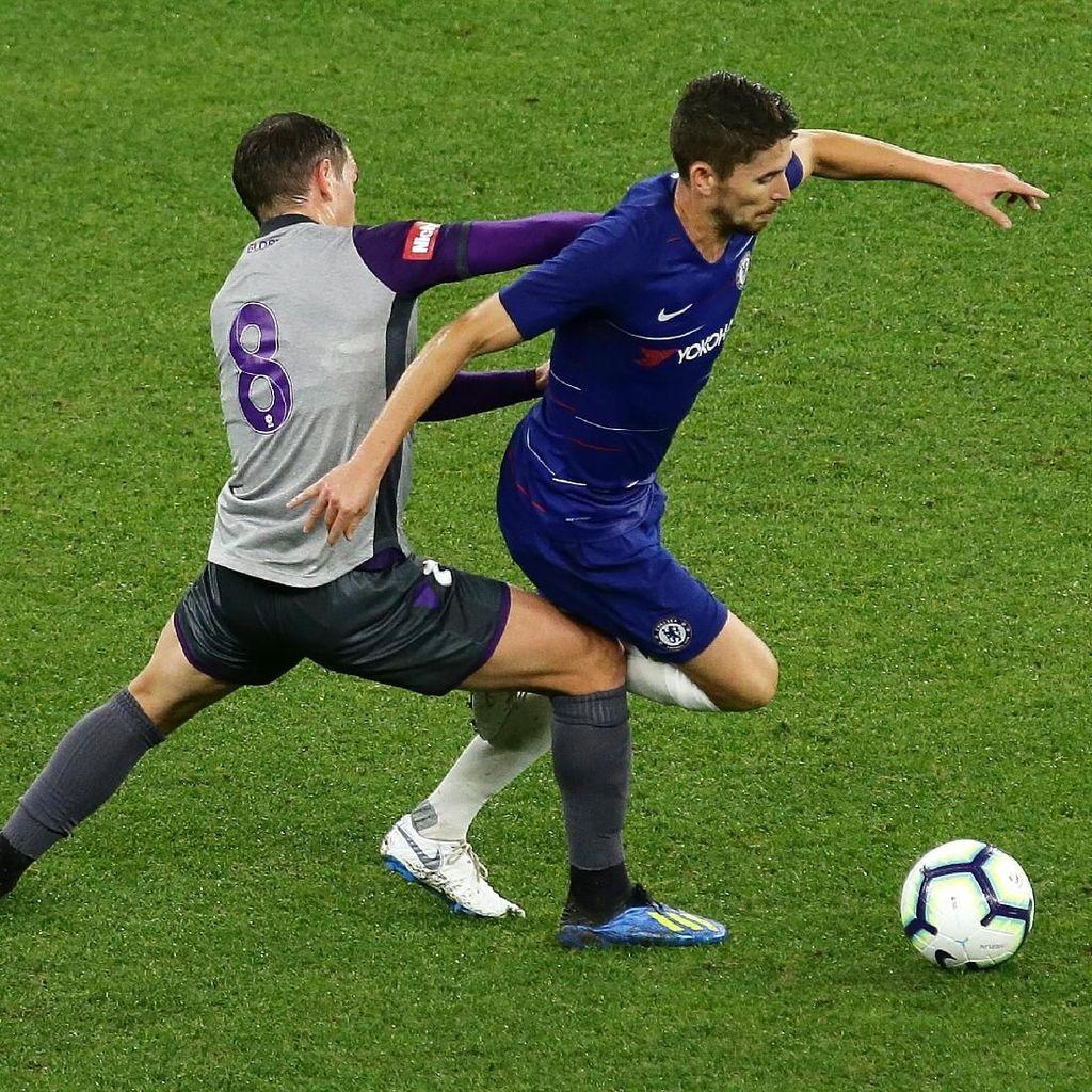 Debut Sarri di Chelsea: Kalahkan Perth Glory 1-0