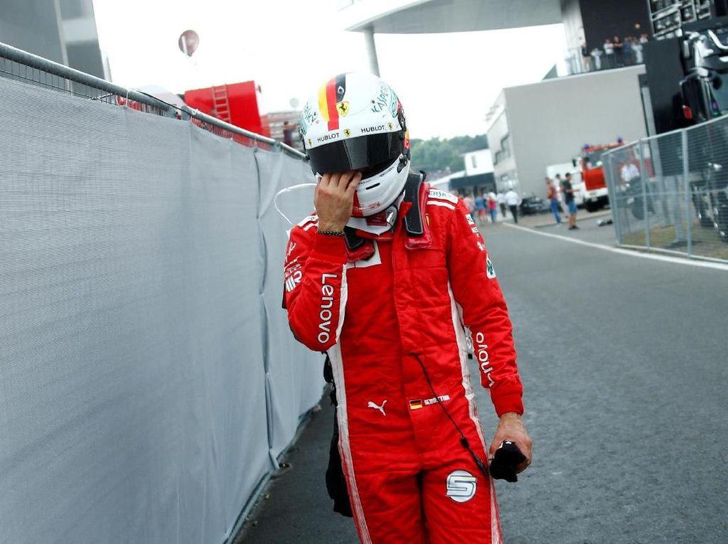Gagal Finis di GP Jerman Takkan Bikin Vettel Sulit Tidur