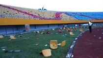 Saat Stadion Jakabaring Porak Poranda Jelang Asian Games