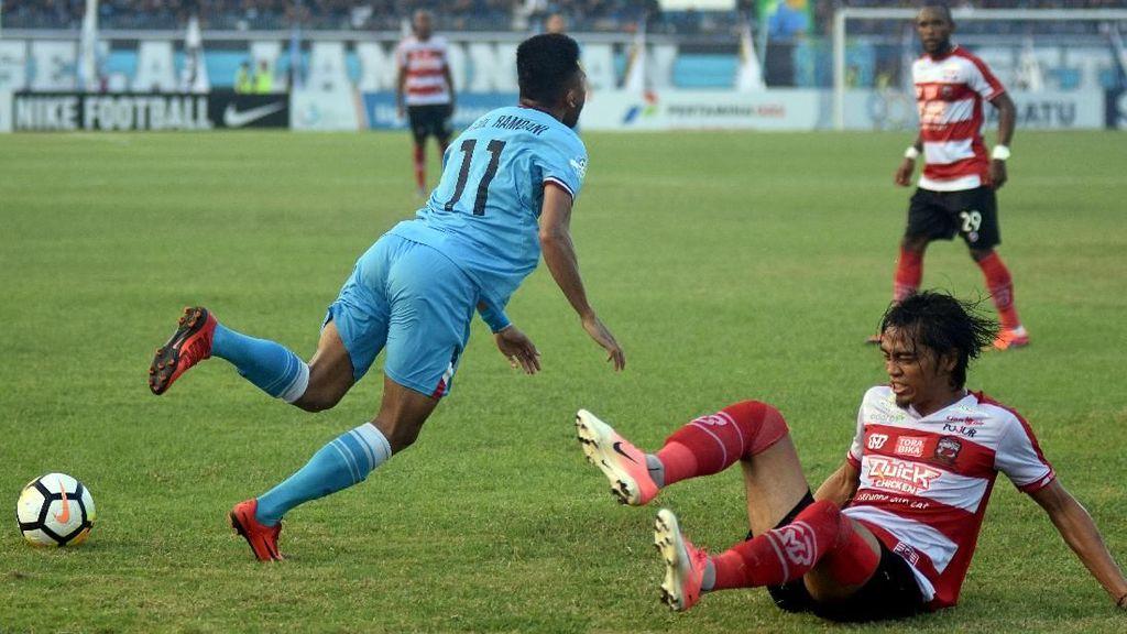 Hasil Pertandingan Liga 1: Persela vs Madura United Berakhir 1-1