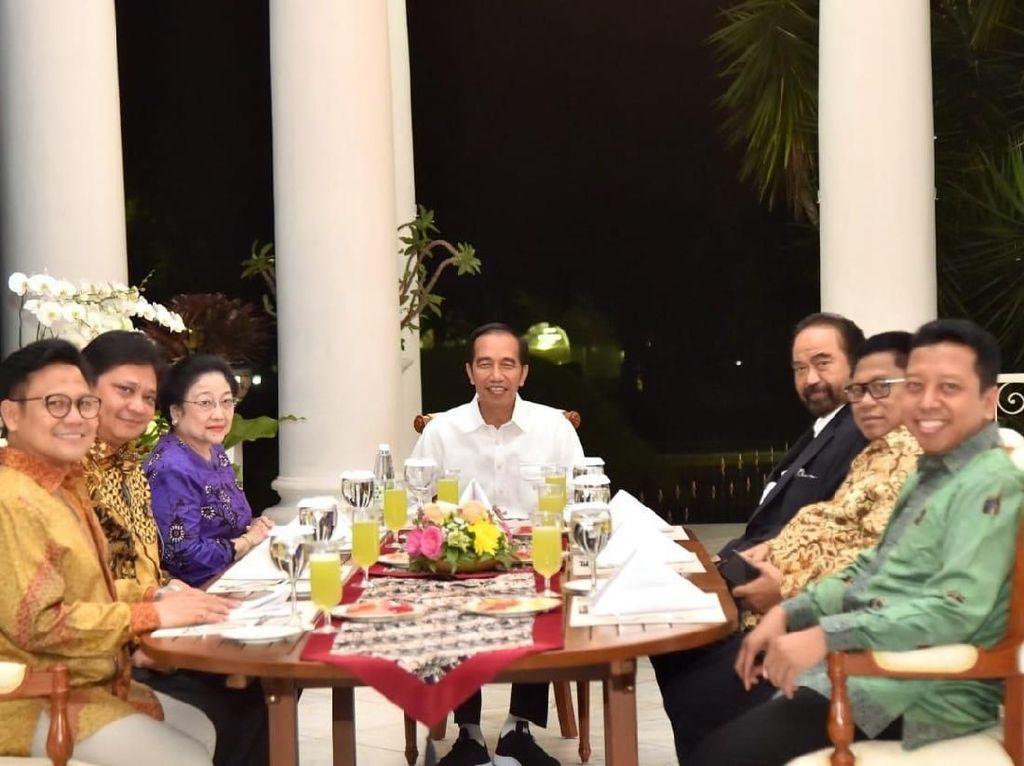 Jokowi Segera Kumpul Lagi dengan Ketum Koalisi Bahas Cawapres