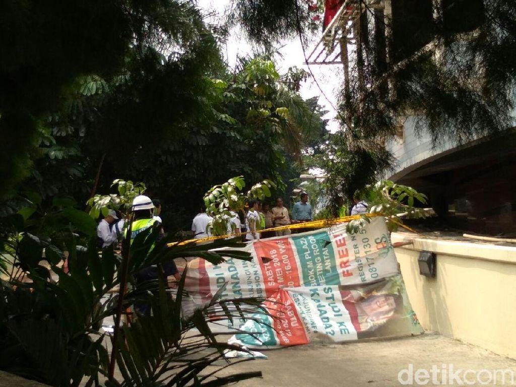 Pria Bunuh Diri di Blok M Plaza Loncat dari Parkiran Lantai 5