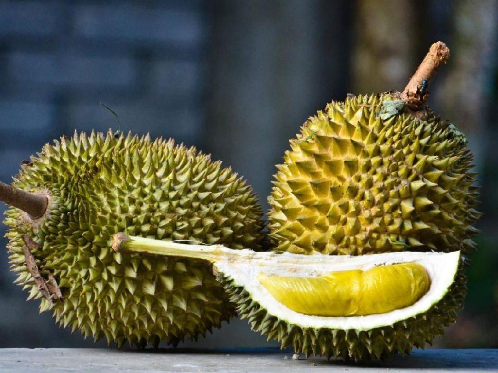 Laris Manis! Durian Rp 3.500 per Buah di Gerai Ini Diburu Sejak Pagi