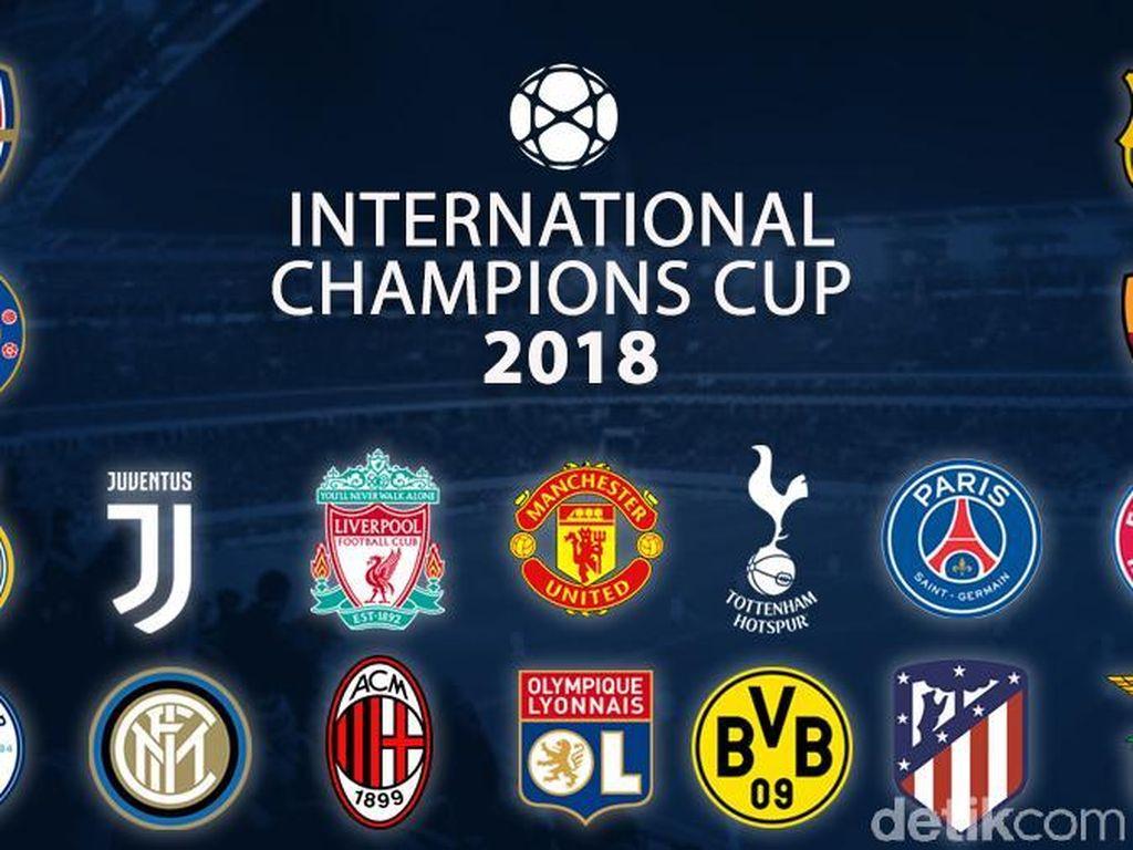 Jadwal ICC 2018: MU vs Liverpool, Barcelona vs Tottenham