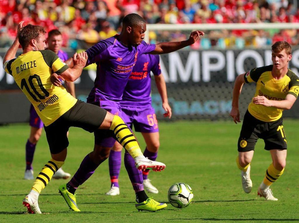 Sempat Unggul Duluan, Liverpool Dikalahkan Dortmund 1-3