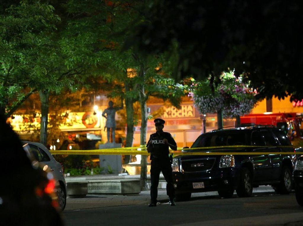 Mencekam, Begini Situasi Penembakan di Toronto