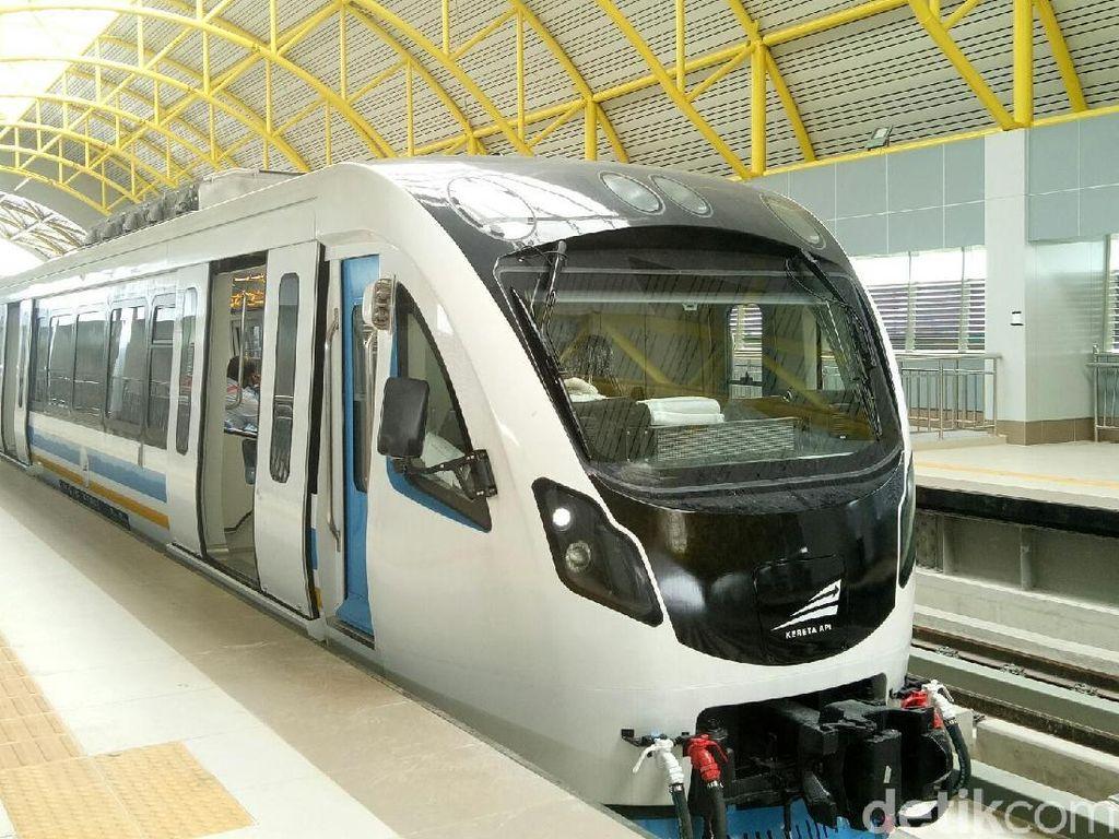 Disebut Prabowo Grusa Grusu, Begini Sejarah Proyek LRT Palembang