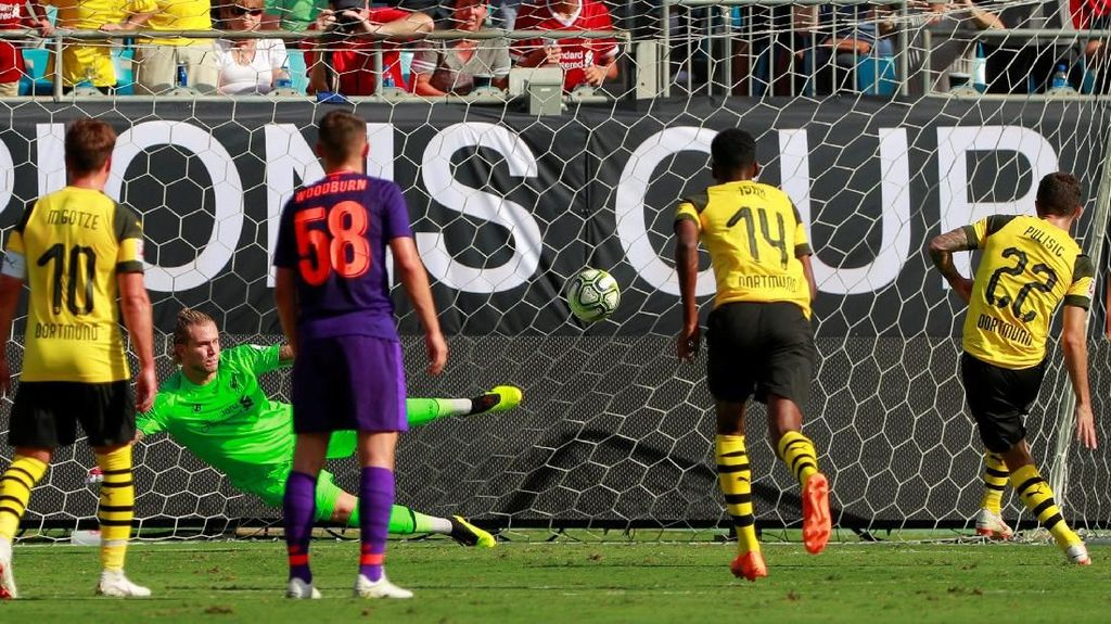 Liverpool Dilibas Dortmund di ICC