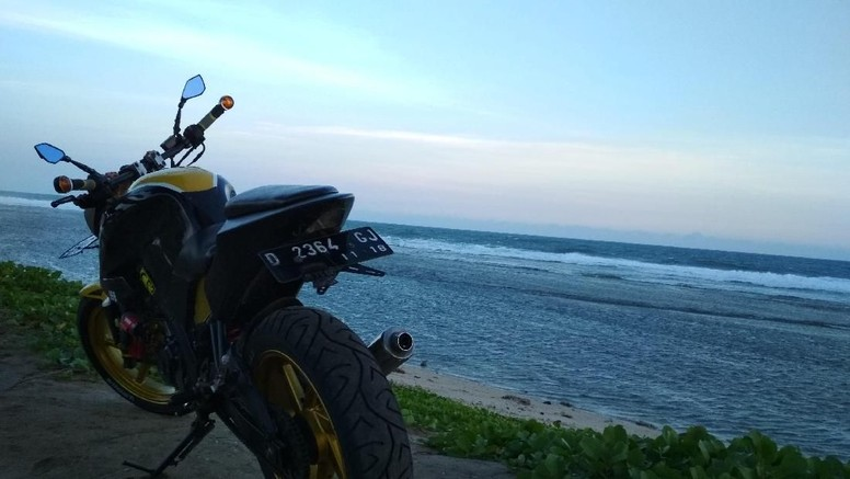 Modifikasi Yamaha V-Ixion
