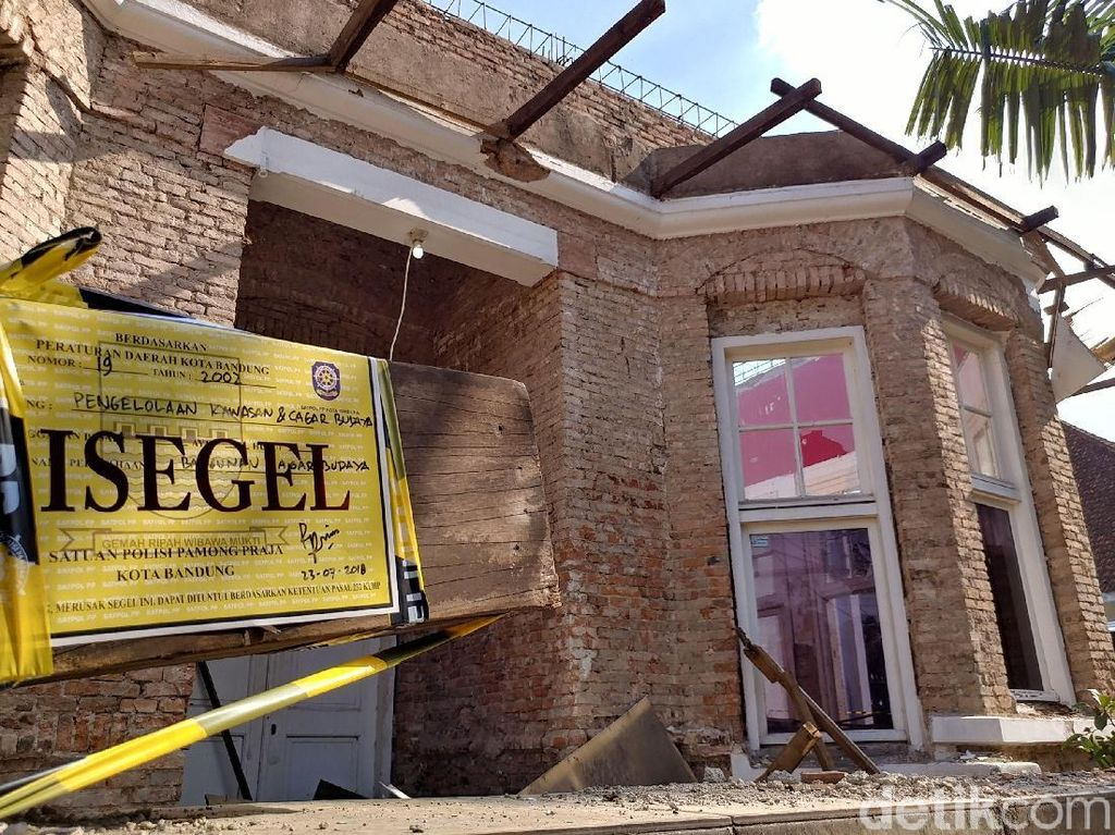 Pemkot Akan Beri Tanda Khusus Bangunan Cagar Budaya di Bandung