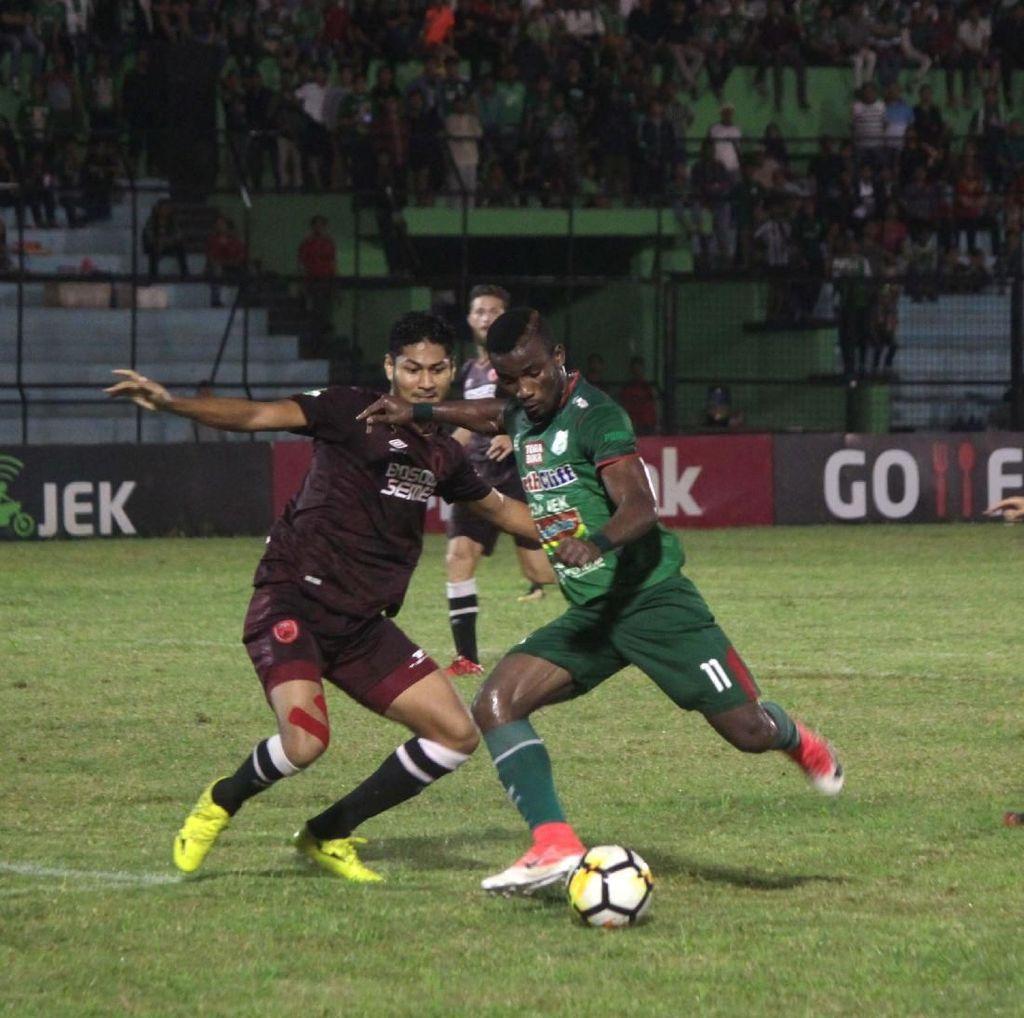 Liga 1: PSM Tumbang di Markas PSMS