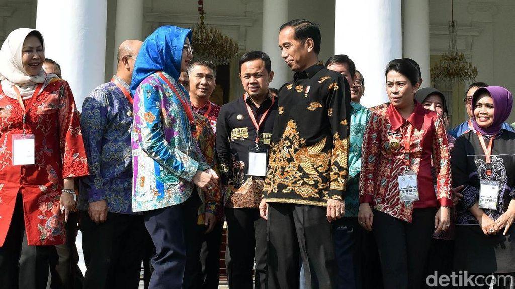 Jokowi Kumpulkan Wali Kota se-Indonesia di Istana Bogor