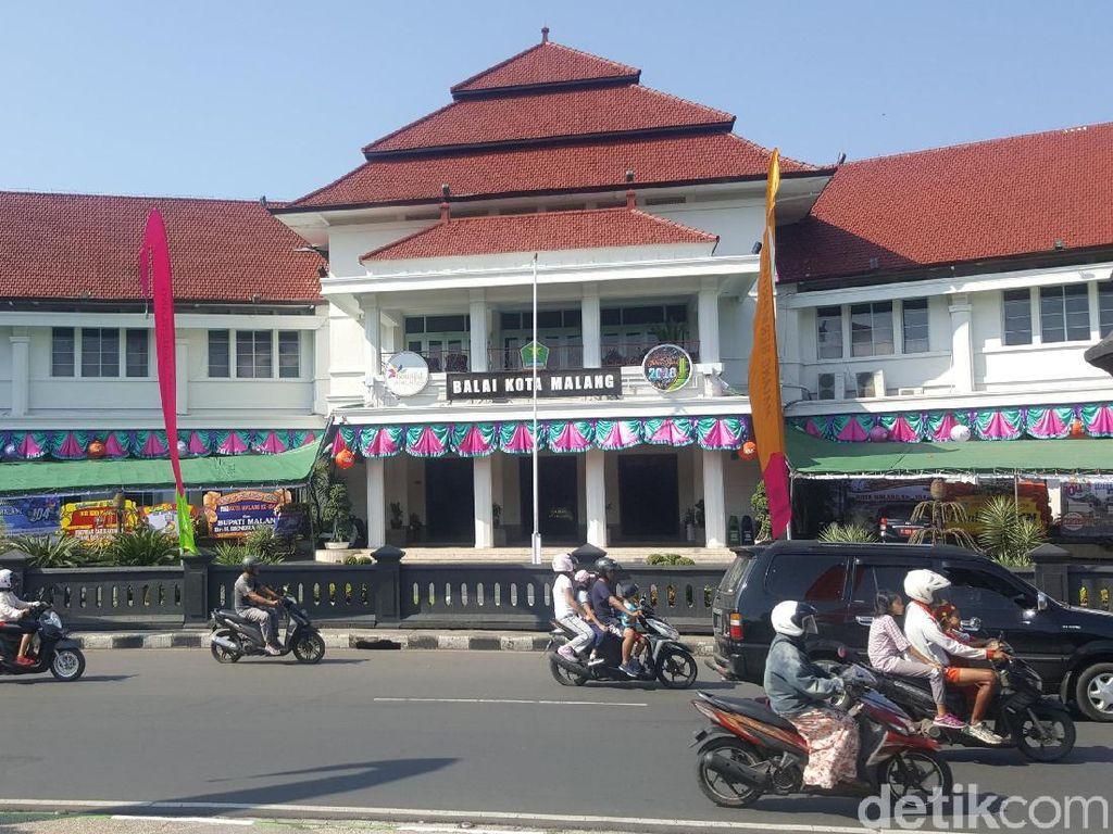 Wali Kota Malang Laporkan Penggunaan APBD 2017, Silpa Rp 400 Miliar
