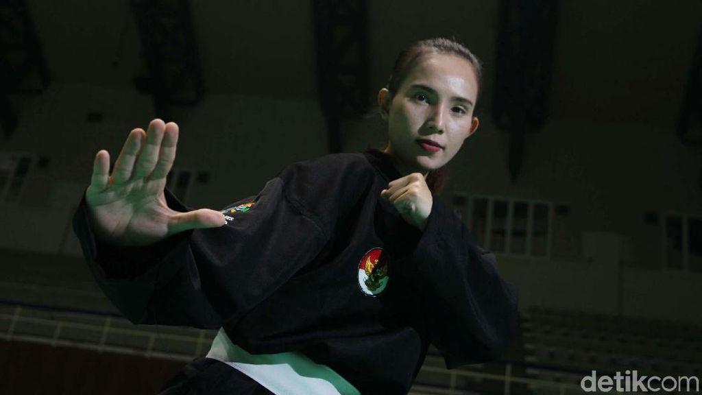 Bugarnya Wewey Wita, Atlet Silat Cantik di Asian Games 2018