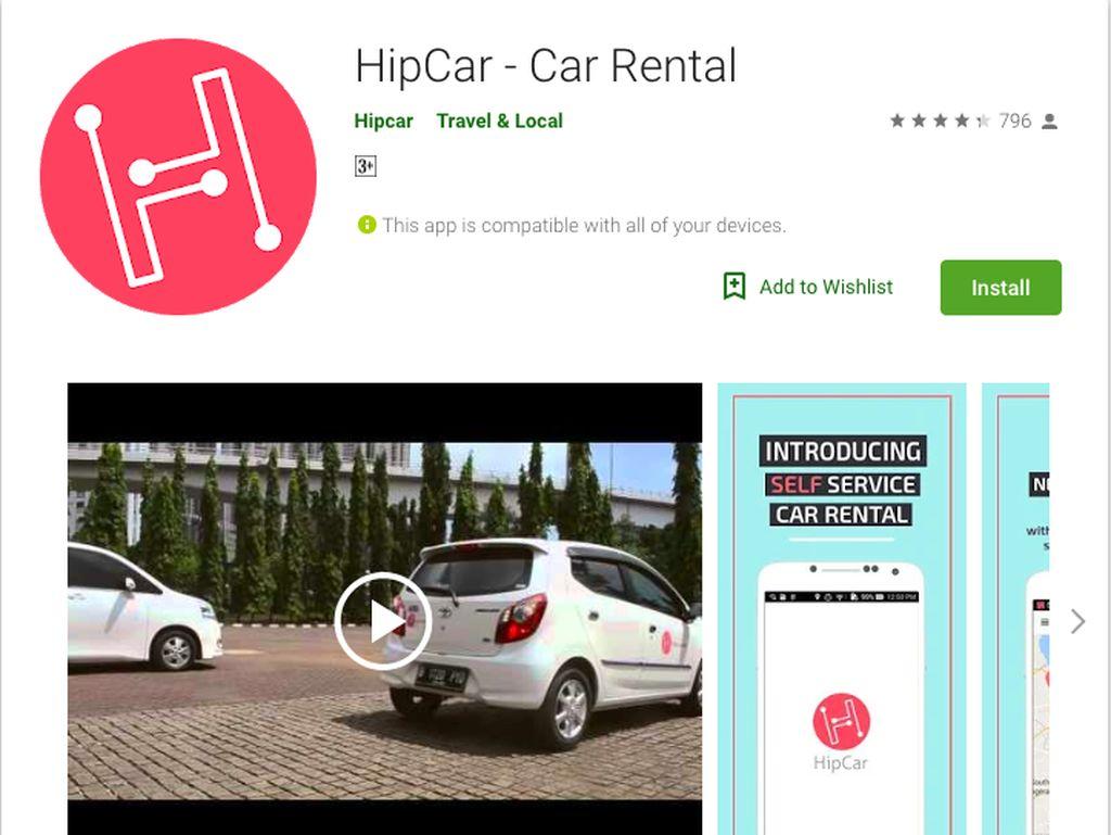 Asyik, di Indonesia Sudah Ada Aplikasi untuk Menyewa Mobil