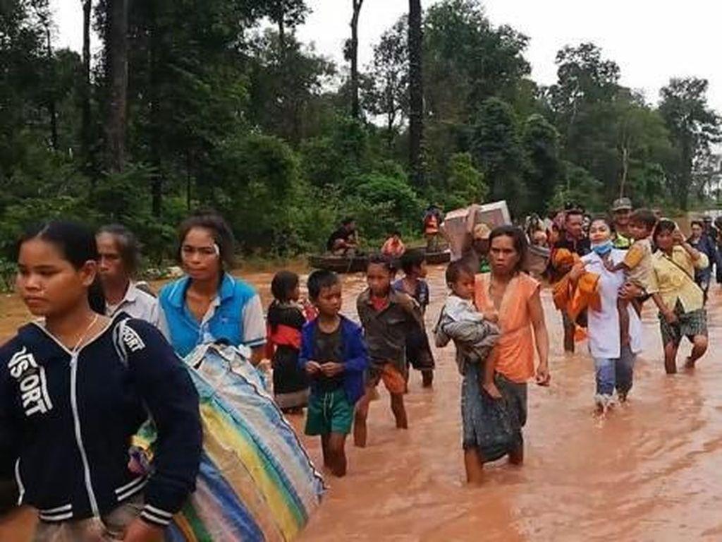 Parahnya Dampak Bendungan Jebol di Laos, Ratusan Orang Hilang