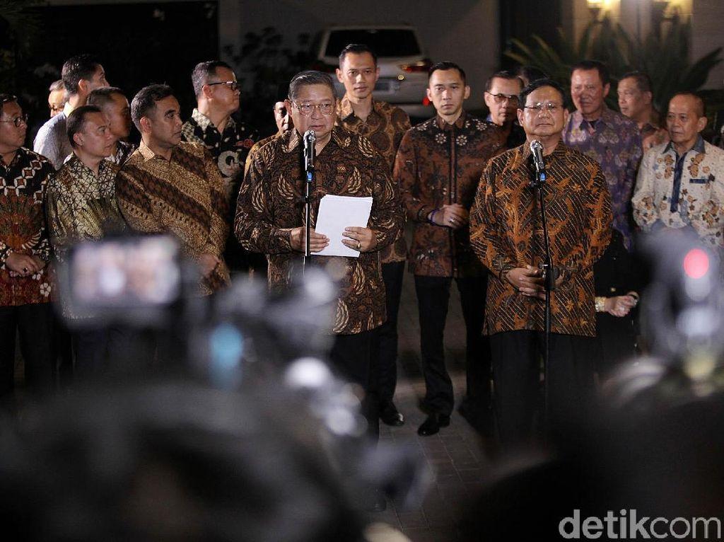 SBY Pernah Dekat ke Jokowi, Fadli Zon: Itu Masa Lalu