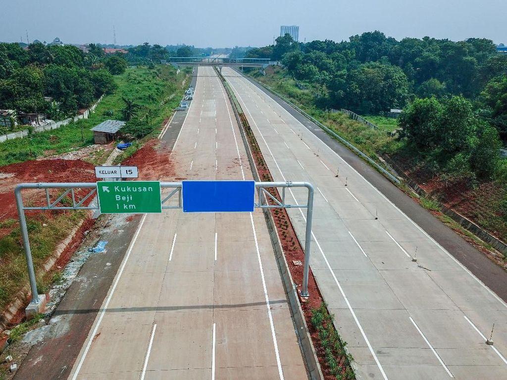 Tol Cijago Seksi II Rute Raya Bogor-Kukusan Dibuka Fungsional Besok