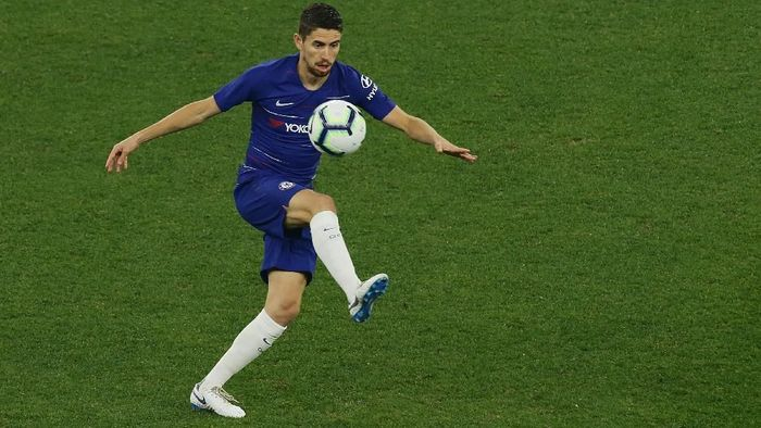 Jorginho langsung nyetel di Chelsea. (Foto: Will Russel/Getty Images)