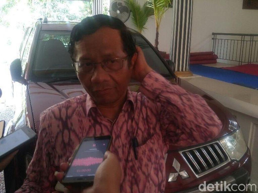 Bursa Cawapres Jokowi, Mahfud MD: Saya Tidak Ikut Campur