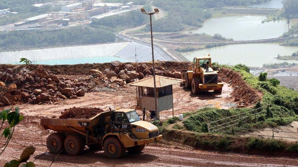 Tingkatkan Produksi Emas di Tumpang Pitu