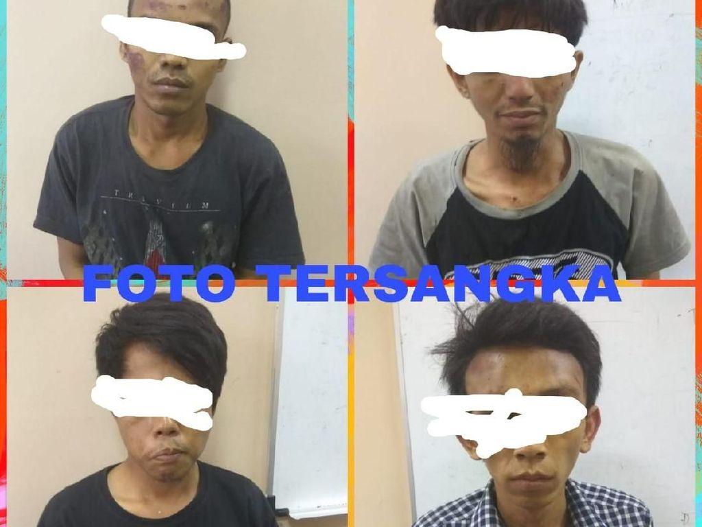 4 Pencuri Komputer Jasa Pengiriman Barang di Tangerang Ditangkap