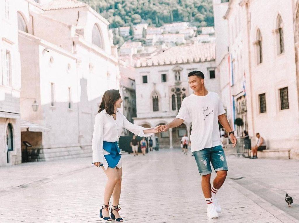 Foto: Intip Liburannya Nikita Willy & Kekasih Keliling Eropa
