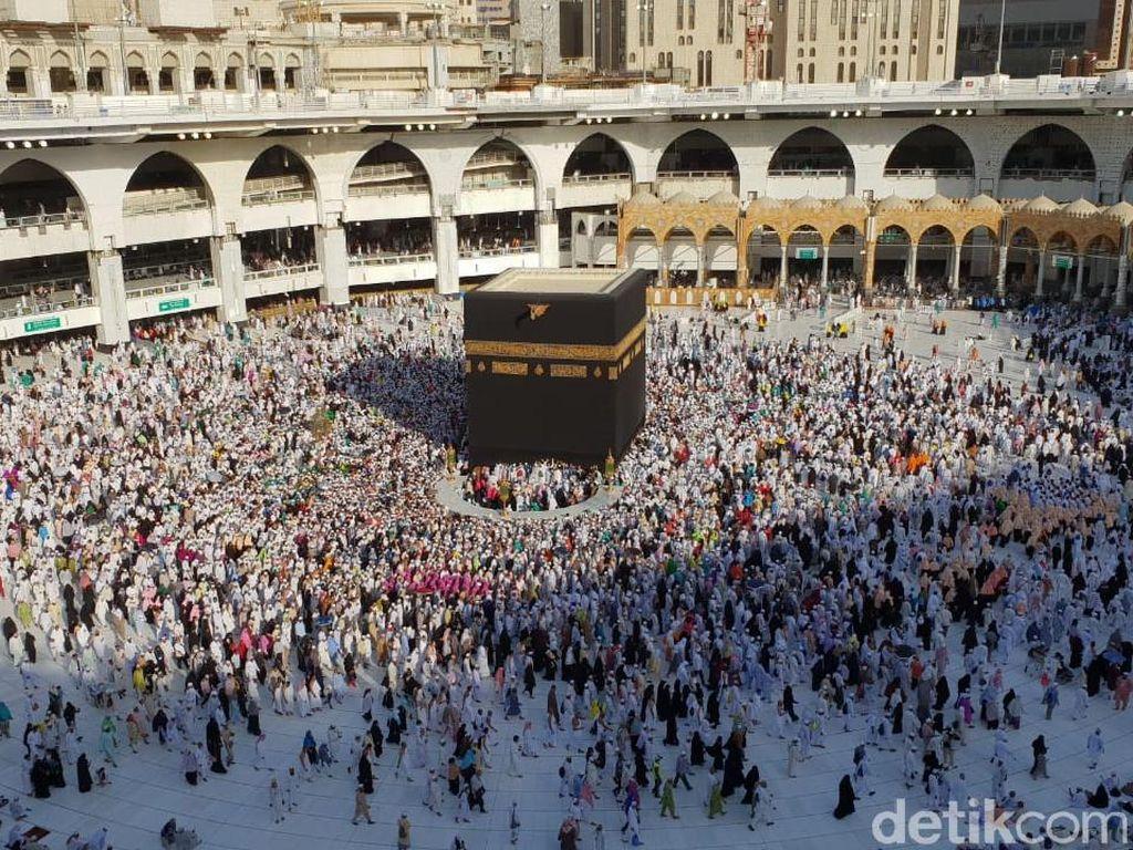 Saudi Setop Sementara Umrah, Jemaah dari Makassar Tetap Berangkat