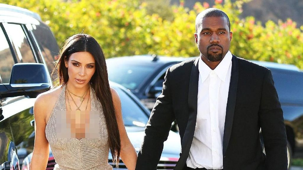 Deretan Hadiah Mewah nan Romantis Kanye West Untuk Kim Kardashian