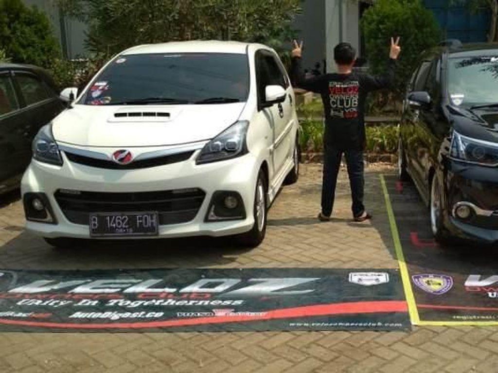 Bukti Kerukunan Komunitas Toyota Veloz dan Honda Brio