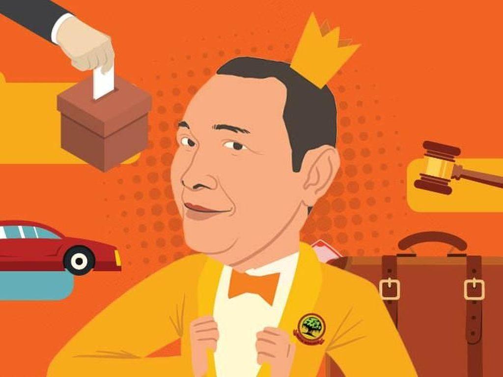 Jejak Bisnis dan Politik Pangeran Cendana
