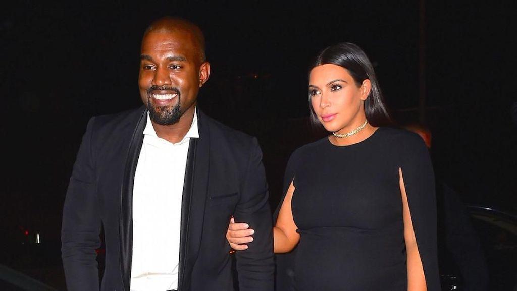 Ini Kado Manis Kanye West untuk Kim Kardashian