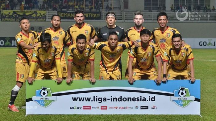 Mitra Kukar punya target bangkit di kandang Bali United (dok. PT Liga Indonesia Baru)