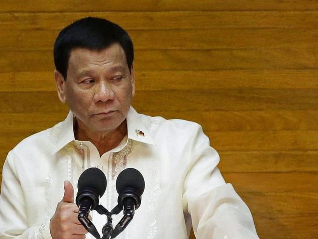 Duterte Ancam Penjarakan Rival Politik yang Berupaya Memakzulkannya