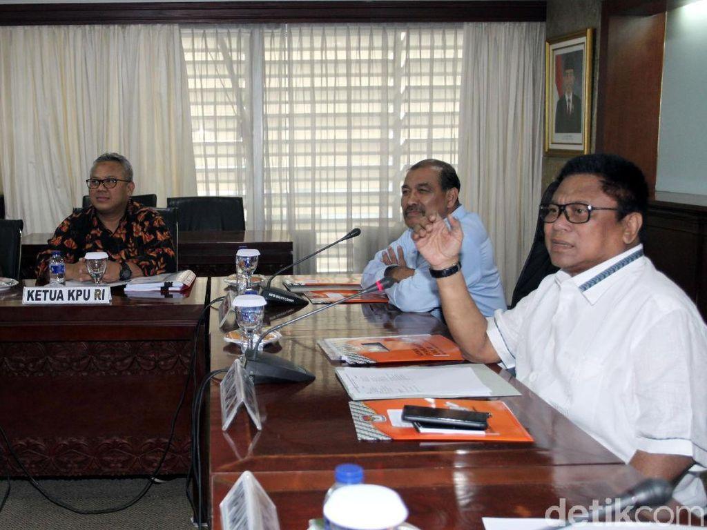 KPU dan Bawaslu Temui DPD RI Bahas Keputusan Mahkamah Konstitusi