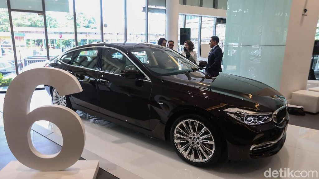 Bergaya Coupe Ini Tampang Anyar BMW Seri 6 Gran Turismo