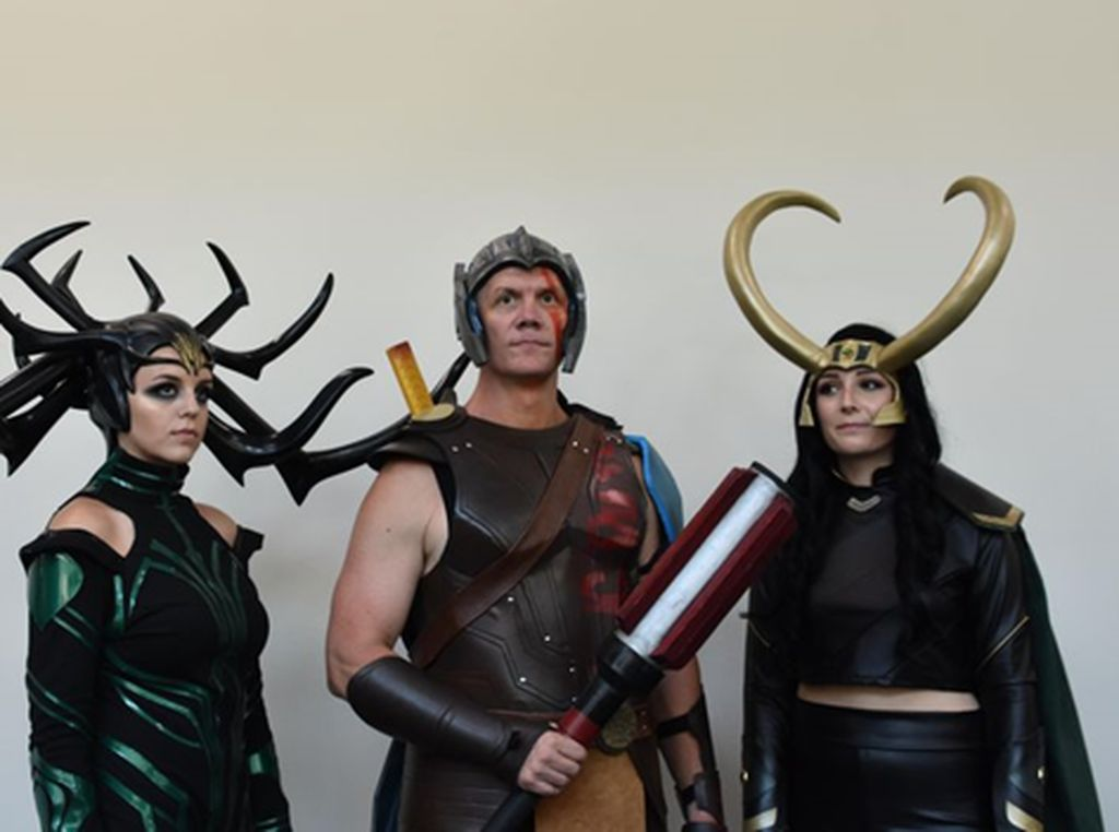 Cosplay Memukau yang Panaskan Comic-Con 2018