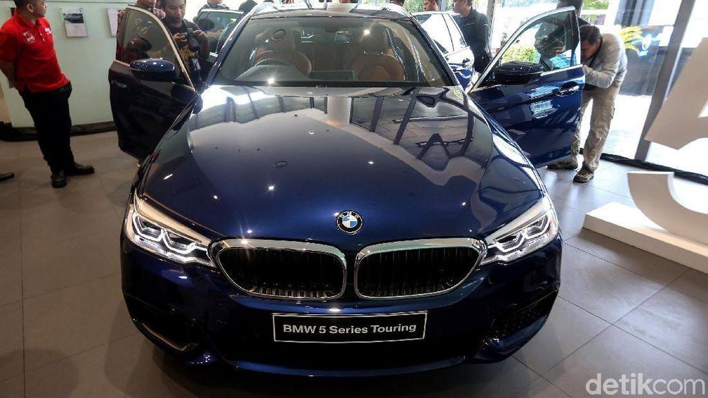 Mengintip All-new BMW Seri 5 Touring yang Elegan