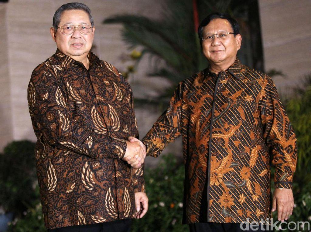 Mengungkap Makna Batik di Pertemuan SBY dan Prabowo